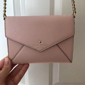 Kate Spade Envelope pink clutch